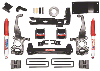 SkyJacker 6 in. Suspension Lift Kit (15-18 4WD, Excluding Raptor)