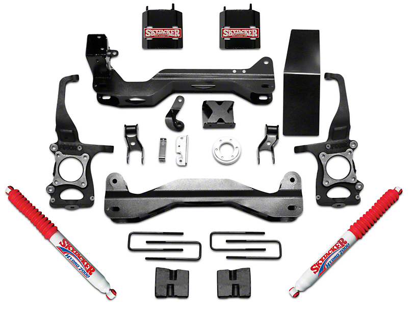 SkyJacker 4.5 in. Suspension Lift Kit w/ Hydro Shocks (09-14 2WD/4WD F-150, Excluding Raptor)