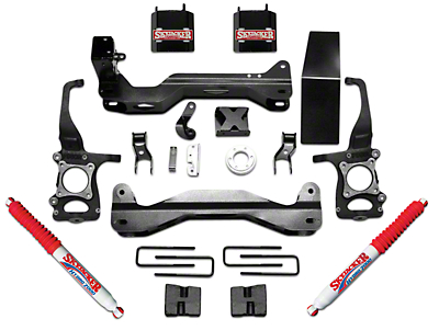 SkyJacker 4.5 in. Suspension Lift Kit w/ Hydro Shocks (09-14 2WD/4WD, Excluding Raptor)