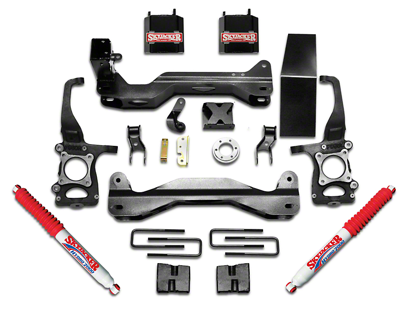 SkyJacker 6 in. Suspension Lift Kit w/ Hydro Shocks (09-14 4WD F-150, Excluding Raptor)