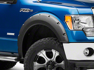 True Edge Rivetz Fender Flares - Textured (09-14 Styleside, Excluding Raptor)