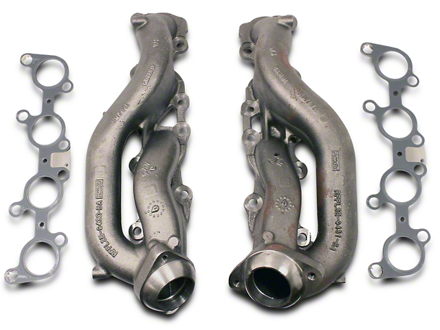 Ford Performance Stock Replacement Exhaust Manifolds (15-17 5.0L)