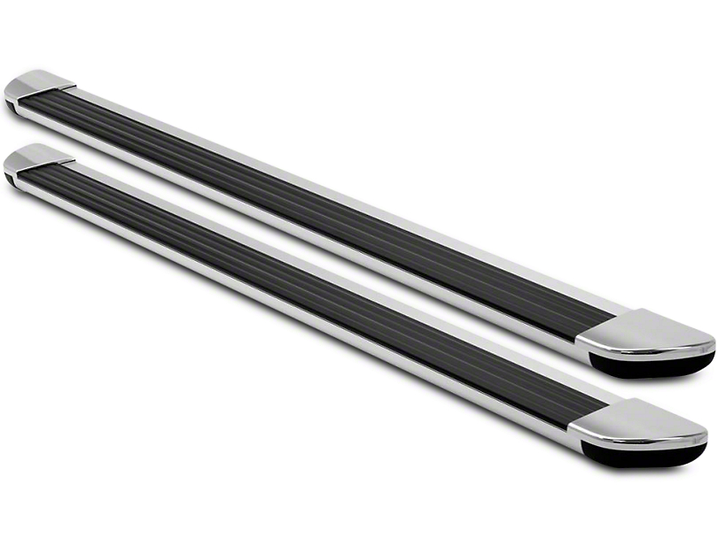 Ionic Gladiator Style Running Boards - Brite (15-17 All)