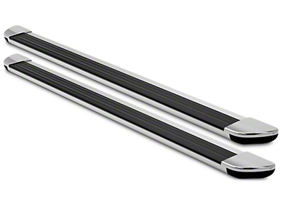 Ionic Gladiator Style Running Boards - Black (09-14 All)