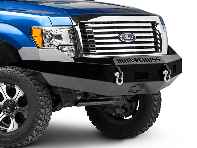 Iron Cross Base Front Bumper (09-14 All, Excluding Raptor)