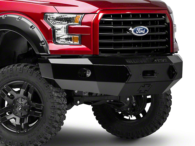 Iron Cross Base Front Bumper (15-17 F-150, Excluding Raptor)