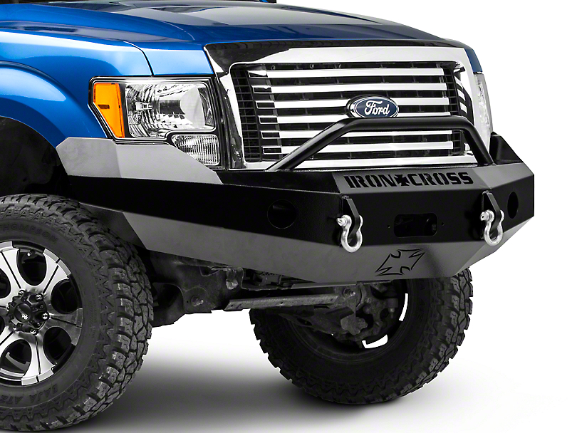 Iron Cross Push Front Bumper (09-14 All, Excluding Raptor)