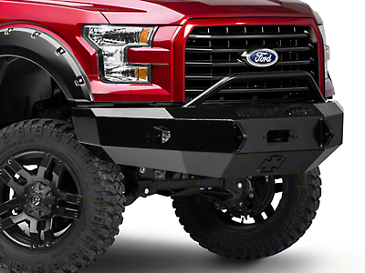 Iron Cross Push Bar Front Bumper (15-17 F-150, Excluding Raptor)