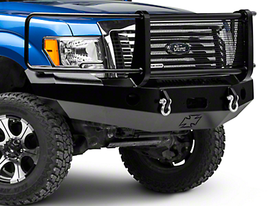 Iron Cross Full Guard Front Bumper (09-14 All, Excluding Raptor)