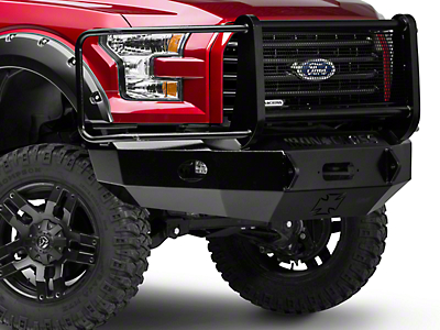 Iron Cross Full Guard Front Bumper (15-17 All, Excluding Raptor)