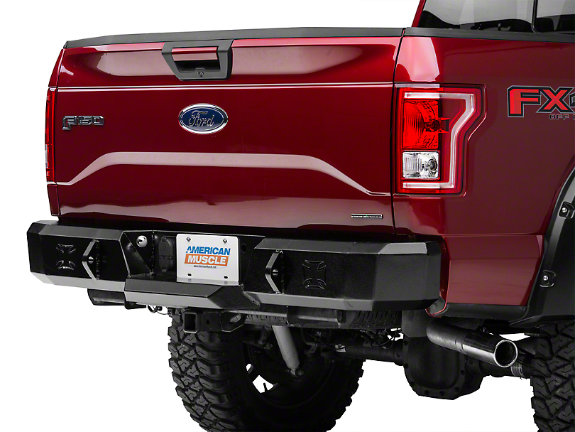 Iron Cross HD Series Rear Bumper (15-18 All, Excluding Raptor)