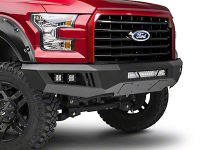 Barricade Extreme HD Front Bumper w/ LED Light Bar, Fog & Spot Lights (15-17 All, Excluding Raptor)