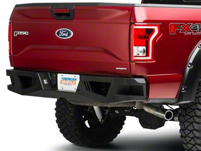 Barricade Extreme HD Rear Bumper for Aftermarket Hitches (15-19 F-150, Excluding Raptor)