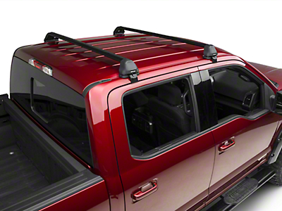Rhino-Rack Vortex 2500 RS 2 Bar Roof Rack - Black (15-17 SuperCrew)