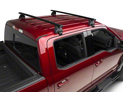 Rhino-Rack Vortex 2500 2 Bar Roof Rack - Black (15-18 SuperCrew)