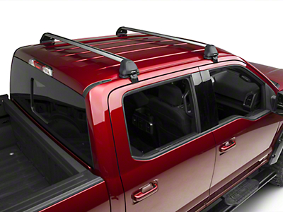 Rhino-Rack Vortex 2500 RS 2 Bar Roof Rack - Silver (15-17 SuperCrew)
