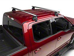 Rhino-Rack Vortex 2500 2 Bar Roof Rack; Silver (15-22 F-150 SuperCrew)