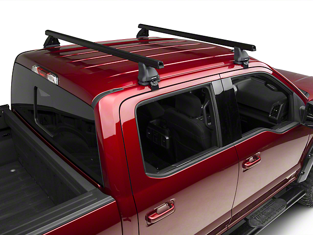 Rhino-Rack Heavy Duty 2500 2-Bar Roof Rack - Black (15-17 SuperCrew)