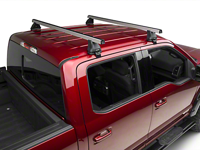 Rhino-Rack Heavy Duty 2500 2-Bar Roof Rack - Silver (15-17 SuperCrew)