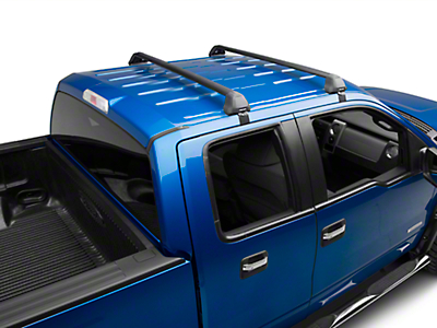 Rhino-Rack Vortex 2500 RS 2-Bar Roof Rack - Black (04-14 F-150 SuperCrew)