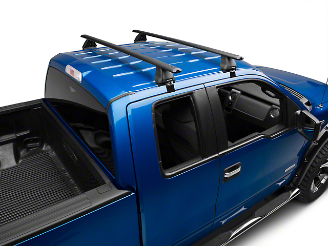 Rhino-Rack Vortex 2500 2-Bar Roof Rack - Black (04-14 F-150 SuperCab, SuperCrew)