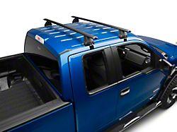 Rhino-Rack Vortex 2500 2-Bar Roof Rack; Black (04-14 F-150 SuperCab, SuperCrew)