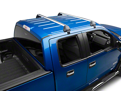 Rhino-Rack Vortex 2500 RS 2-Bar Roof Rack - Silver (04-14 SuperCrew)