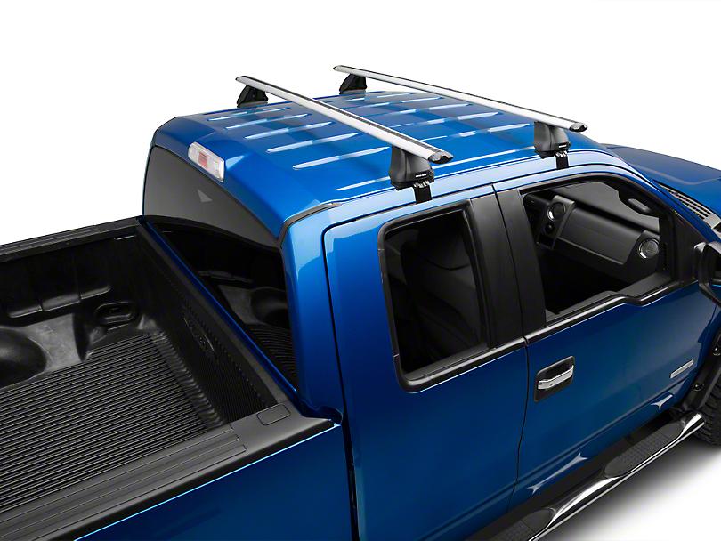 Rhino-Rack Vortex 2500 2-Bar Roof Rack - Silver (04-14 SuperCab, SuperCrew)