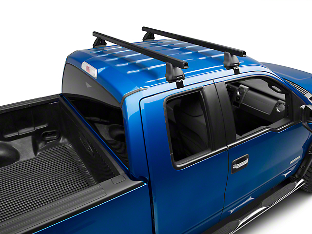 Rhino-Rack Heavy Duty 2500 2-Bar Roof Rack - Black (04-14 SuperCab, SuperCrew)