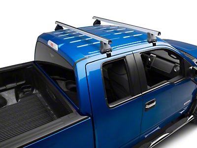 Rhino-Rack Heavy Duty 2500 2-Bar Roof Rack - Silver (04-14 SuperCab, SuperCrew)