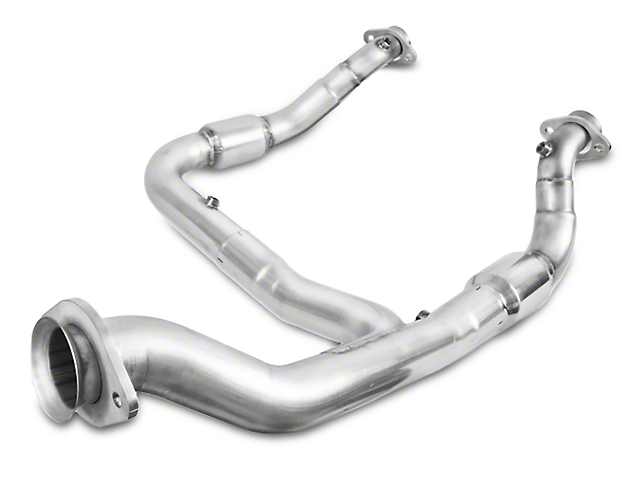 Stainless Works Catted Downpipe - Factory Connect (15-17 2.7L/3.5L EcoBoost, Excluding Raptor)
