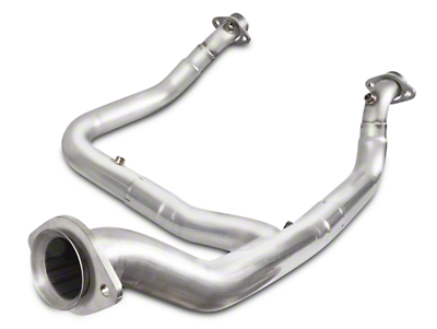 Stainless Works Off-Road Downpipe - Factory Connect (15-17 2.7L/3.5L EcoBoost, Excluding Raptor)