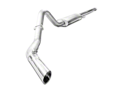 Stainless Works Turbo Chambered Cat-Back Exhaust - Single Side Exit - Factory Connect (15-17 2.7L EcoBoost)