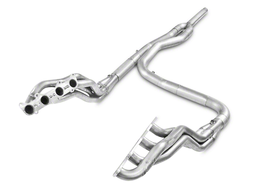 Stainless Works 1-3/4 in. Headers w/ Off-Road Y-Pipe - Factory Connect (11-14 5.0L)