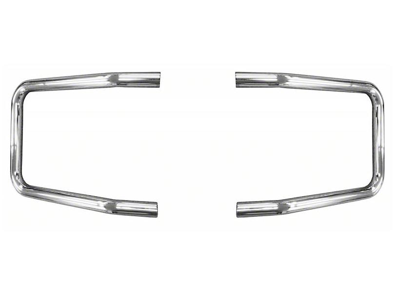 Mile Marker Brush Guard Hoop Set - Chrome (09-14 F-150, Excluding EcoBoost, Harley Davidson, Limited & Raptor)
