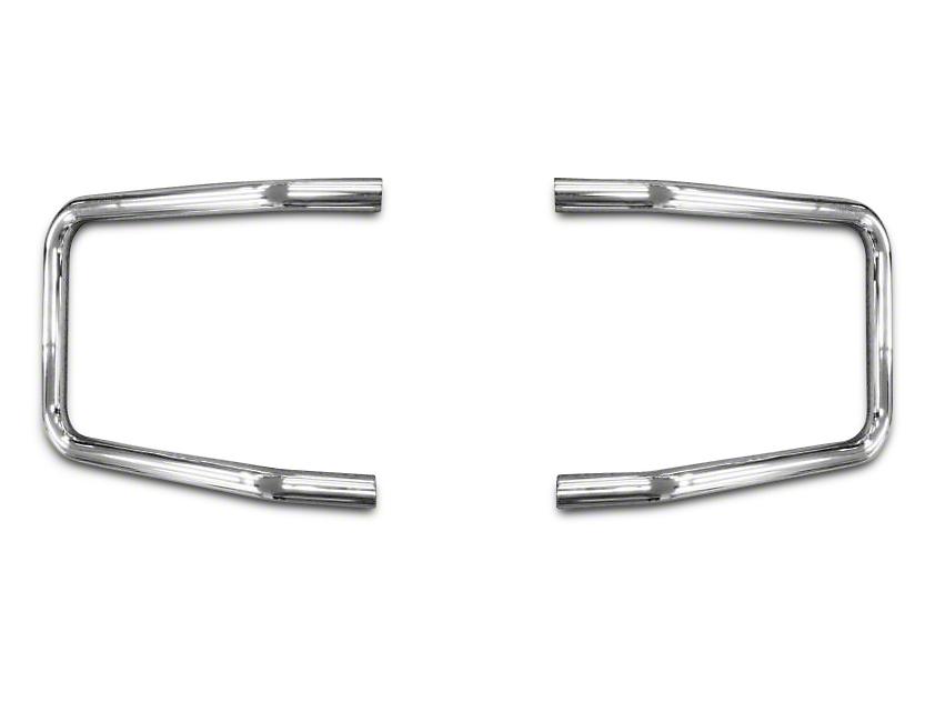 Mile Marker Brush Guard Hoop Set - Chrome (15-17 F-150, Excluding Raptor)