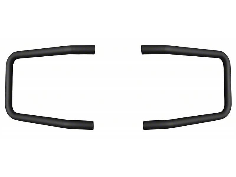 Mile Marker Brush Guard - Black (15-17 All, Excluding Raptor)