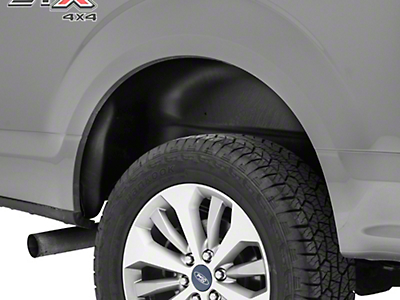 Husky Rear Wheel Well Guards - Black (15-18 All, Excluding Raptor)