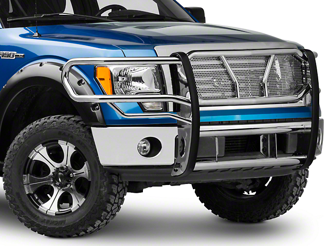 Westin HDX Brush Guard - Stainless Steel (09-14 All, Excluding Harley Davidson & Raptor)