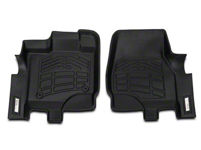 Wade Sure-Fit Front Floor Mats - Black (15-19 F-150)