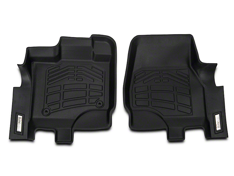 Wade Sure-Fit Front Floor Mats - Black (15-18 All)