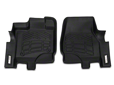 Wade Sure-Fit Front Floor Mats - Black (15-18 F-150)