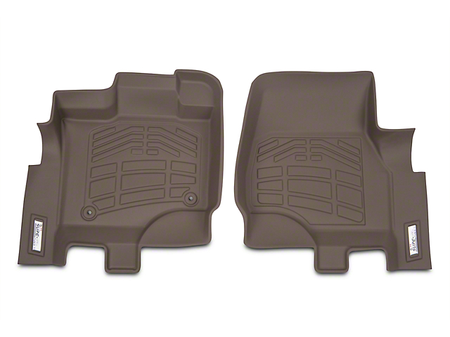 Wade Sure-Fit Front Floor Mats - Tan (15-18 All)
