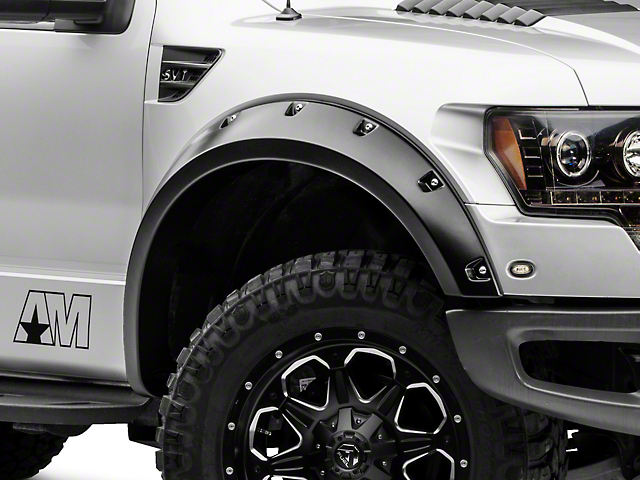 Bushwacker Pocket Style Fender Flares - Set of 4 (10-14 F-150 Raptor)