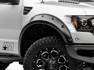 Bushwacker Pocket Style Fender Flares - Set of 4 (10-14 Raptor)