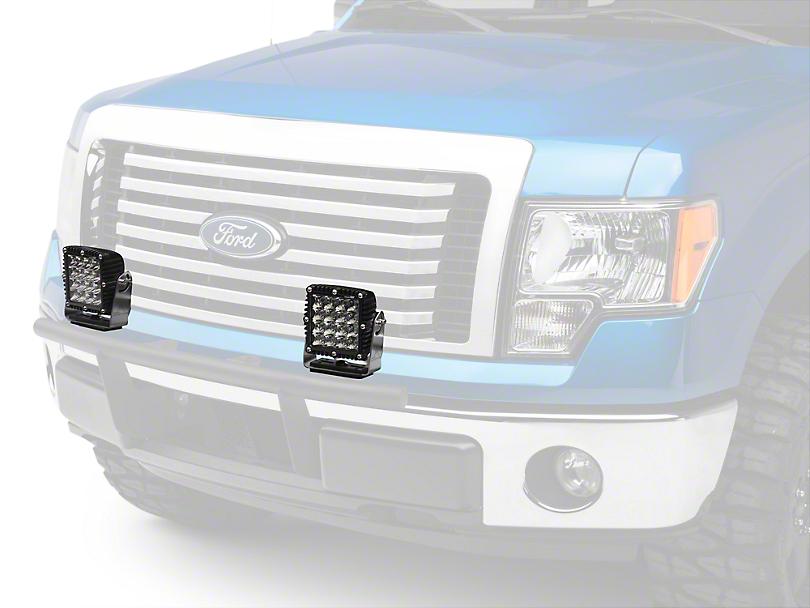 Rigid Industries 6-3/4 in. Q Series LED Light - Flood Beam (97-17 All)