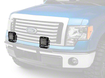 Rigid Industries 6-3/4 in. Q Series LED Light - Flood Beam (97-18 All)