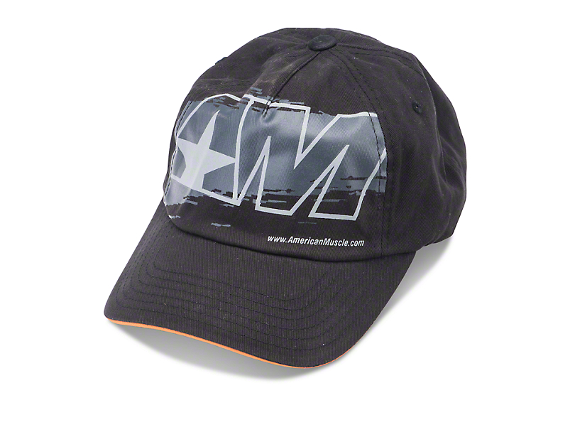 AmericanMuscle Shredded Hat - Black
