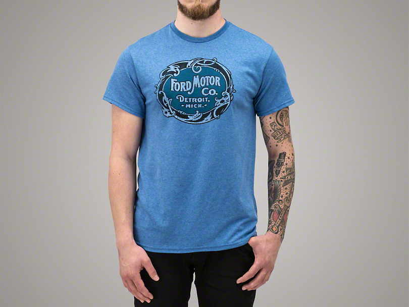 Ford Motor Co. T-Shirt - Blue