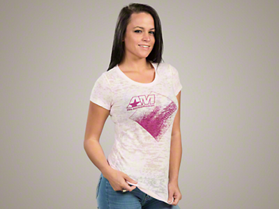 AmericanMuscle Burnout T-Shirt - Women